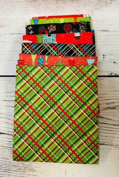 June Tailor Tree Skirt Kit Christmas Brights (need batting kit)