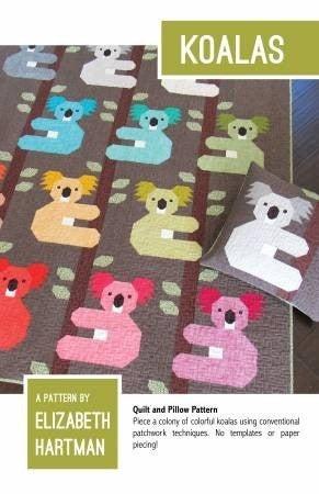 """Quilt Kit:  Koalas by Elizabeth Hartman 65"""" x 78"""""""