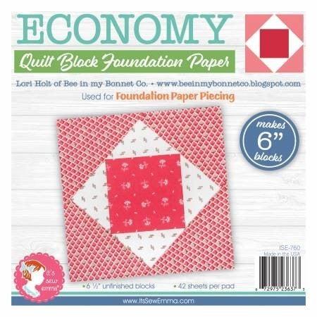 "Economy  6"" Foundation Paper"