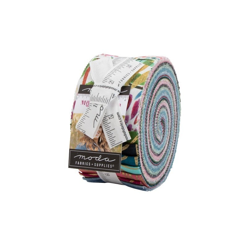 "Moody Bloom Jelly Roll 2 1/2"" Strips"