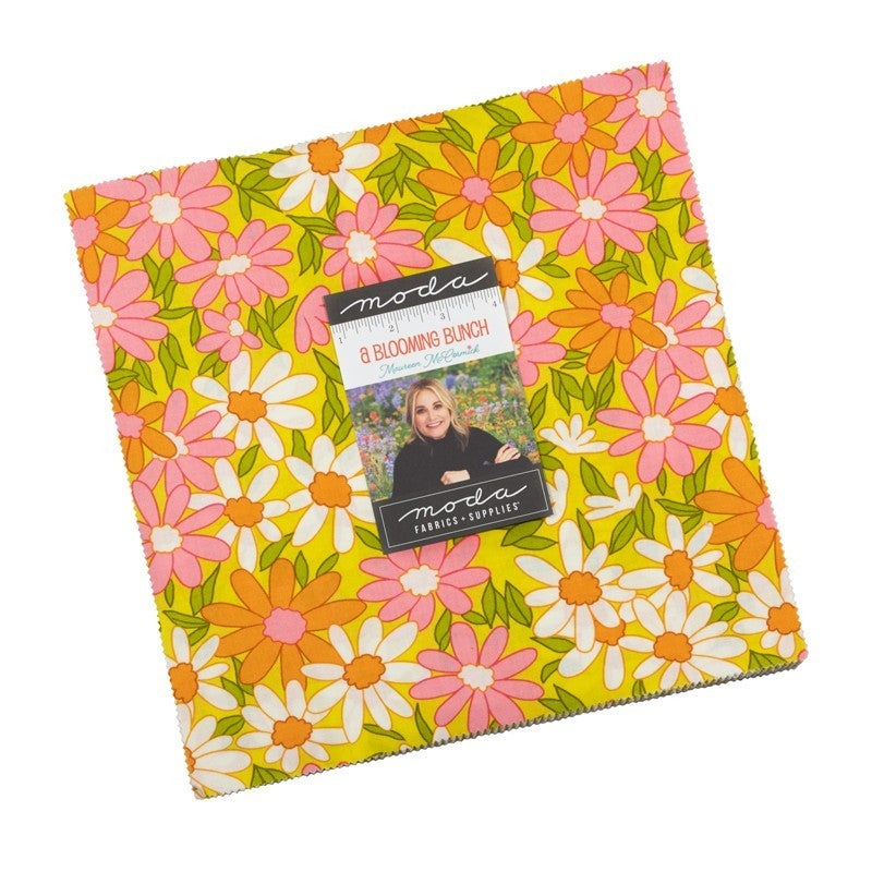 """A Blooming Bunch Layer Cake 10"""" Squares"""