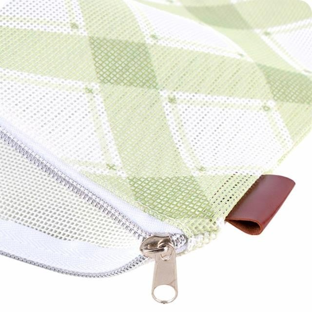 """Moda Mad For Plaid Project Bag Olive (10"""" x 13"""" x 3.25"""")"""