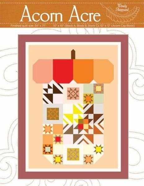 Kit:  Acorn Acres  54 x 71 (Includes Pattern)