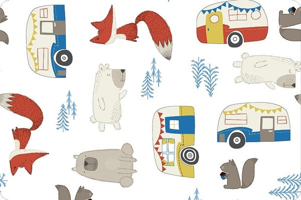 Cuddle Let's Go Camping (34 x 60)