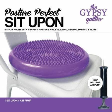 Posture Perfect Sit Upon w/Air Pump