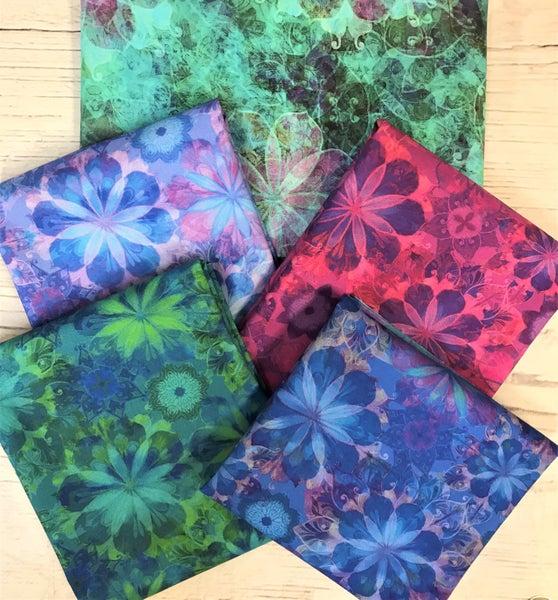 BYOK - RK Venice Teal kit (2 1/2 yards fabric)