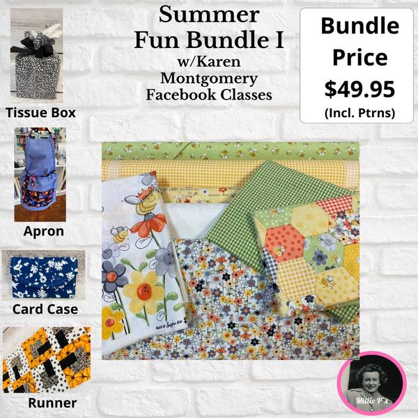 Summer Fun Bundle I w/Karen Montgomery