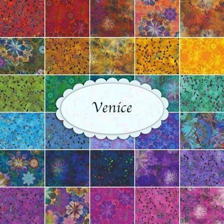 "Venice Charm Pack Squares (42) 5"""
