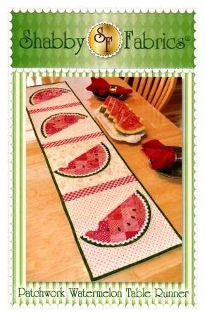 Pattern:  Patchwork Watermelon Table Runner