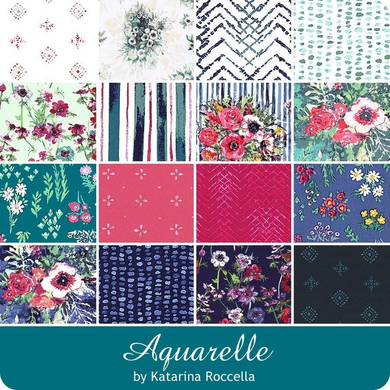 Art Gallery Aquarelle FQ Bundle (16 FQs)