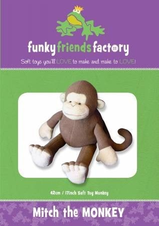 Pattern:  Mitch the Monkey *Final Sale*