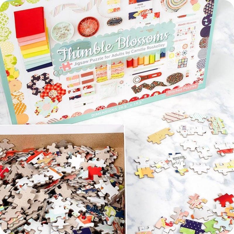 Thimble Blossoms 1000 Piece Puzzle