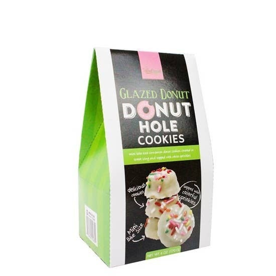 Donut Hole Cookies-- 3 Flavors!