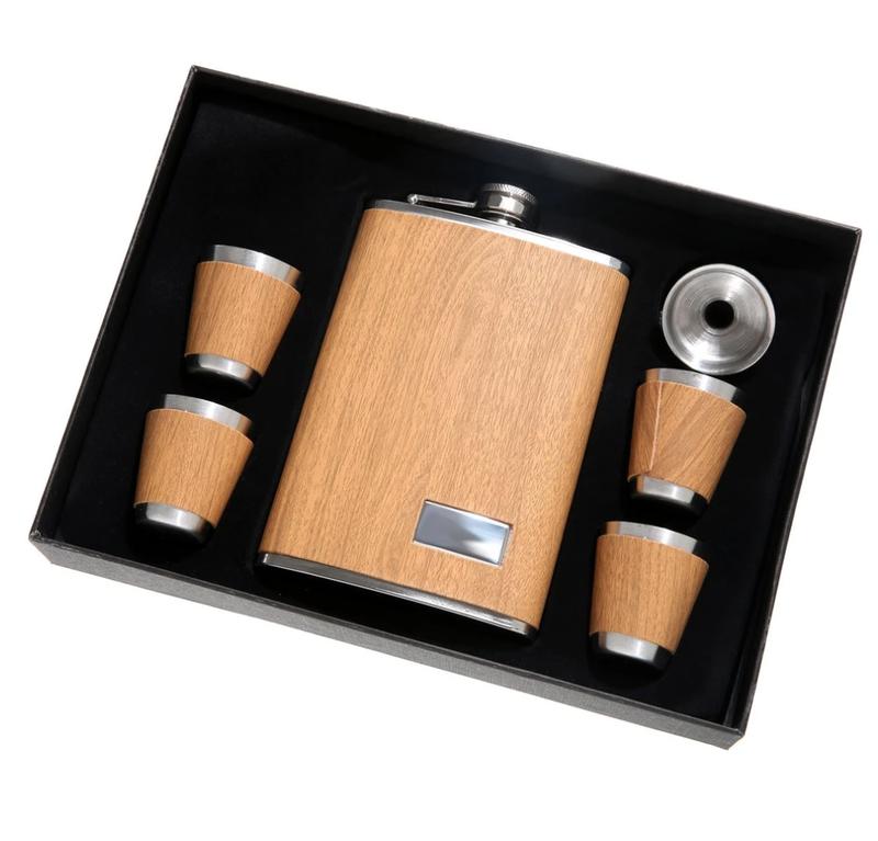 5 Piece Flask Set