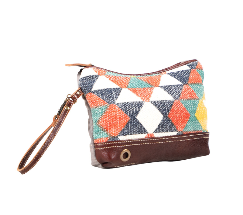 Myra Bag- Multi Color Wristlet