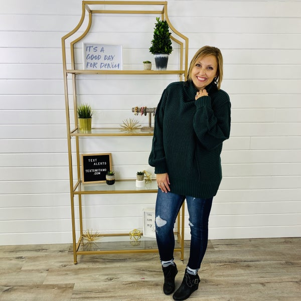 DOORBUSTER Too Cozy Turtleneck Sweater- 7 Colors!