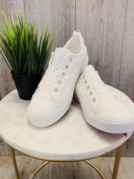 Corky's Slip On Sneakers WHITE