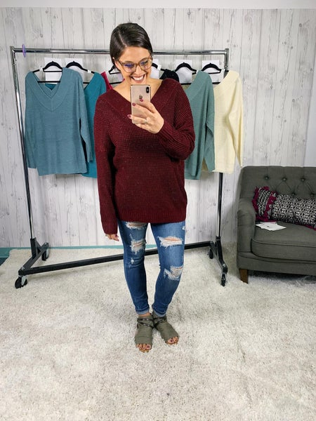 Plus/ Reg Deal of the Day Lightweight  Slouchy Oversized Sweater