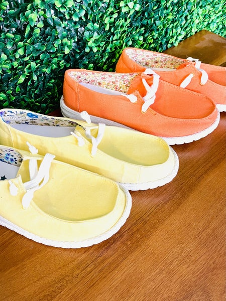 Gypsy Jazz Sunrise Sneakers- 2 Colors!