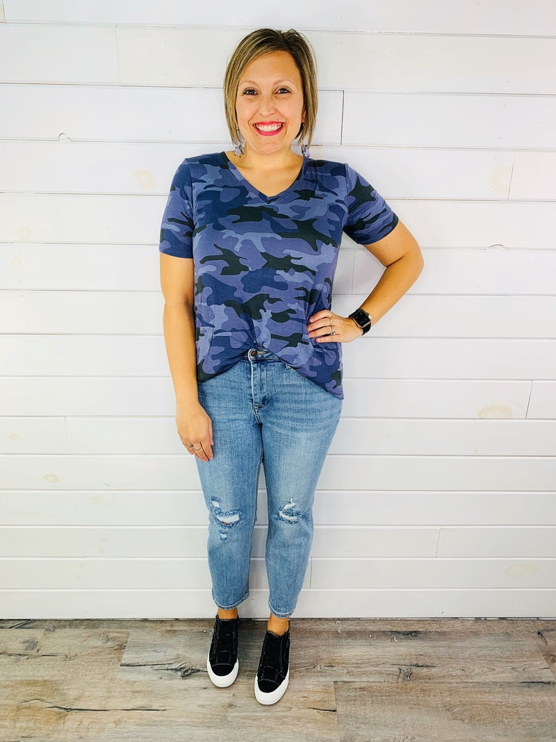 Judy Blue Plus/Reg YOUR MAMA'S BOYFRIEND Jeans