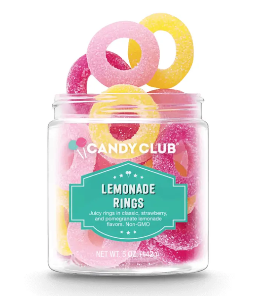 Gourmet Candy Lemonade Rings