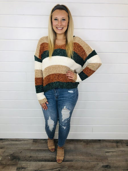 PLUS/REG Feelin' Fall Sweater