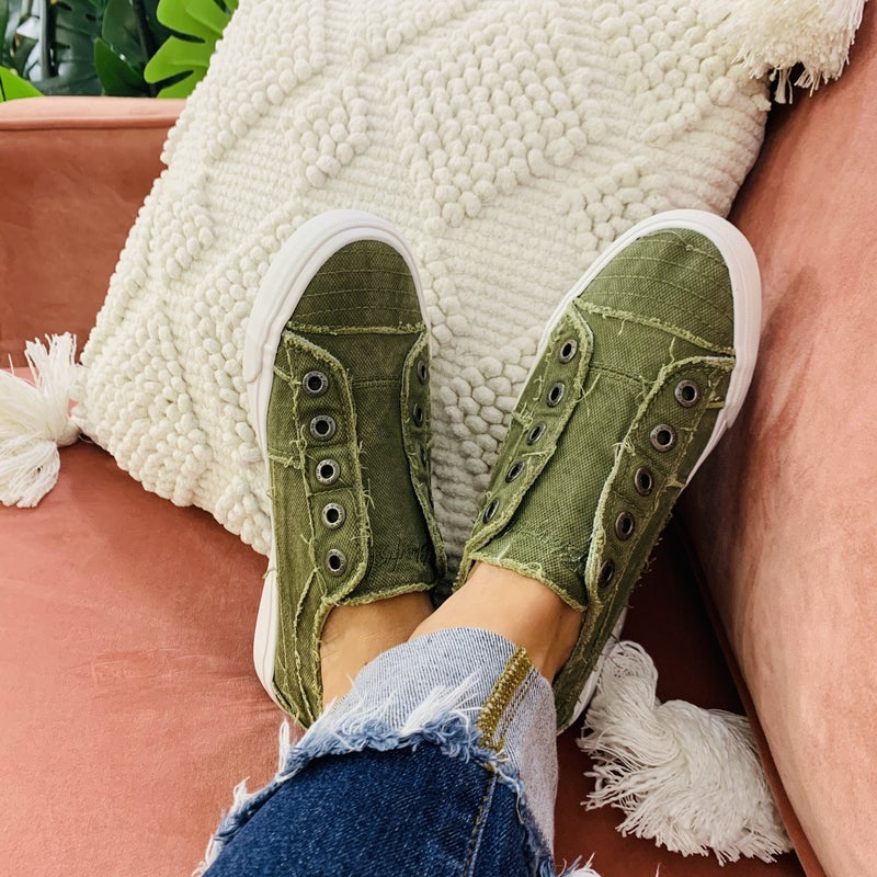 Blowfish Olive About You Slip On Sneakers