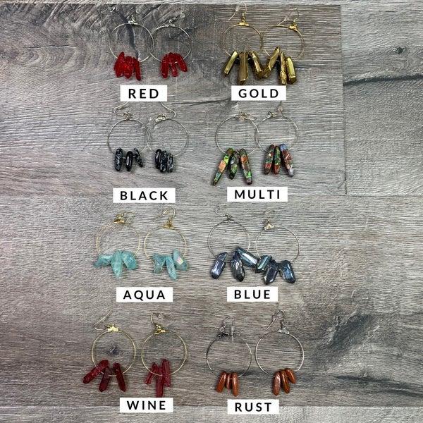 MOCO Custom Crystal Earrings