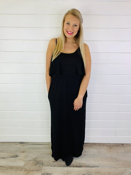 Sway With The Wind Maxi Dress