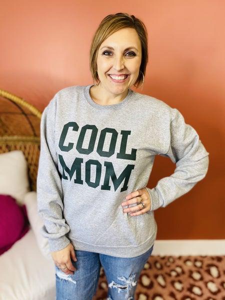 Plus/Reg Cool Mom Sweatshirt