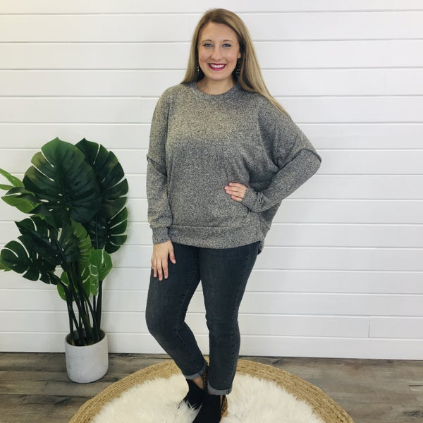 DOORBUSTER PLUS/REG Let's Grab Brunch Sweater- 6 Colors!