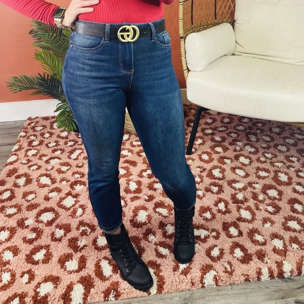 PLUS/REG DOORBUSTER! Judy Blue ThermaDenim Talkin' Bout My Girl Jeans