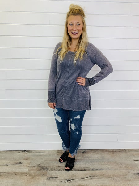 Lost In Transition Top- 2 Colors!