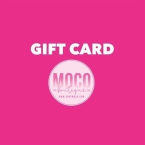 MOCO GIFT CARDS