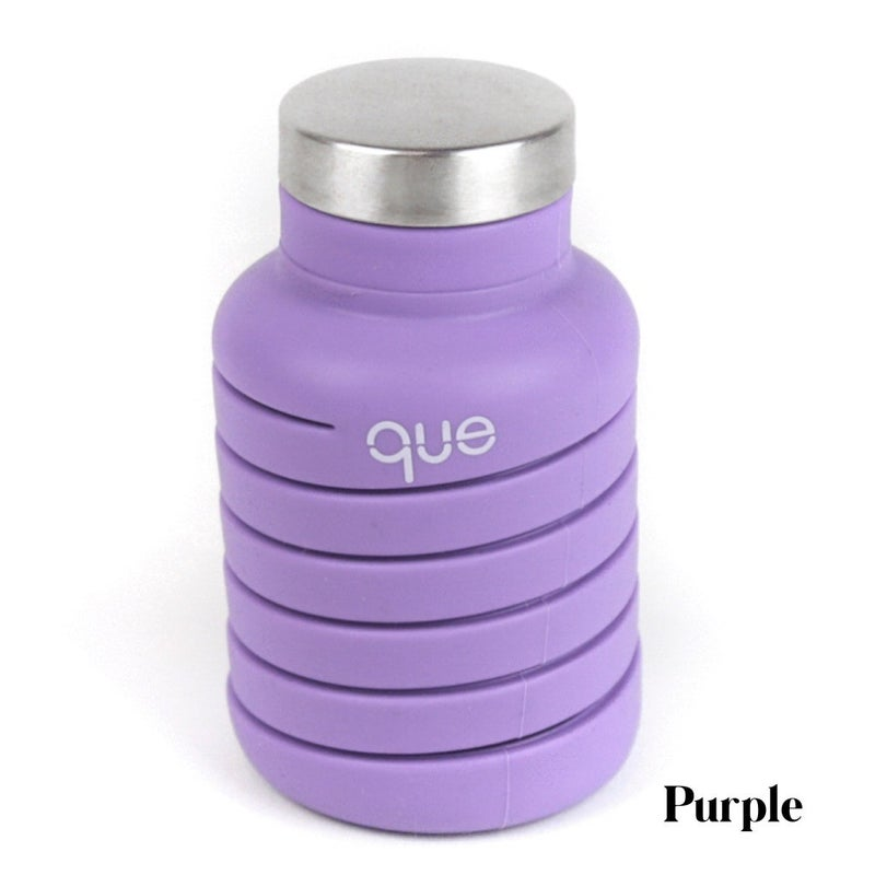 RESTOCK! Silicone Collapsable Water Bottle - 7 Colors!