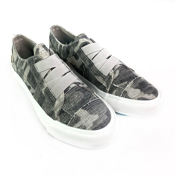Blowfish Vintage Wash Camo Slip On Sneaker