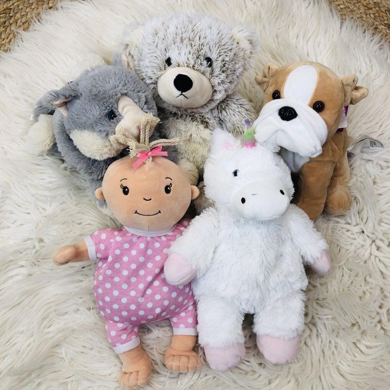 Warmies Big Microwavable Stuffed Animal
