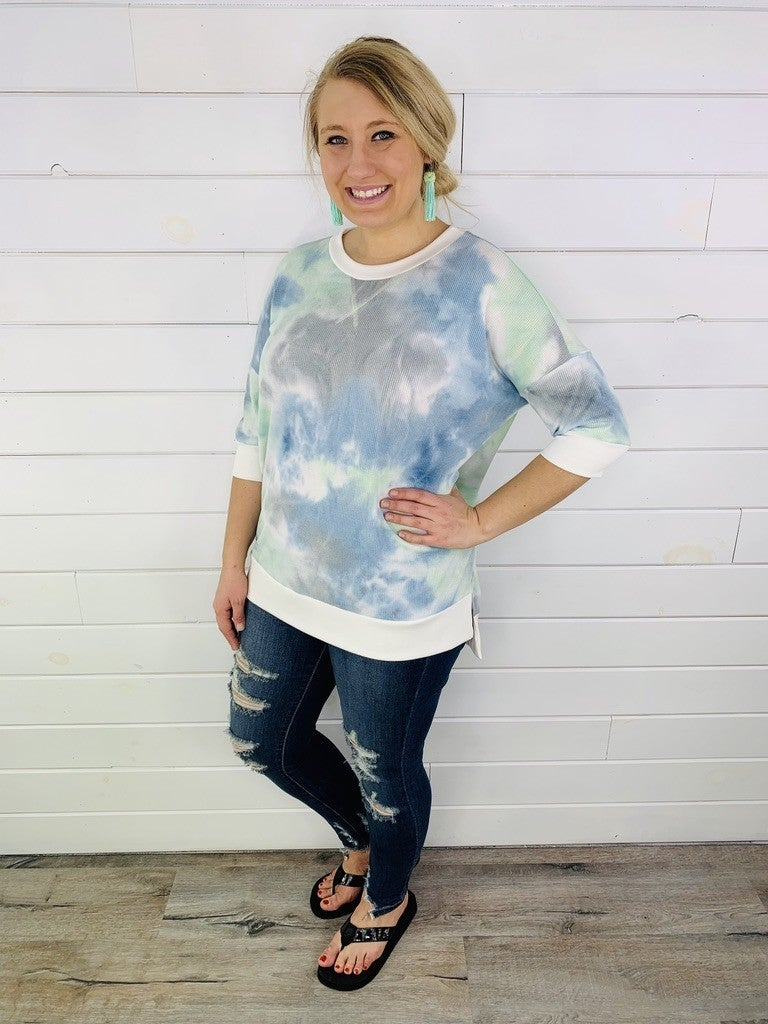 PLUS/REG HoneyMe 3.0 Tie Dye Weekender--2 Colors!