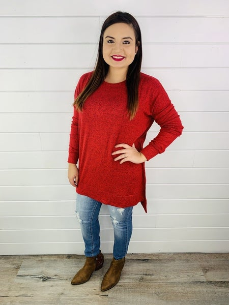PLUS/REG DAILY DEAL Softest Long Sleeve Tunic, EVER!
