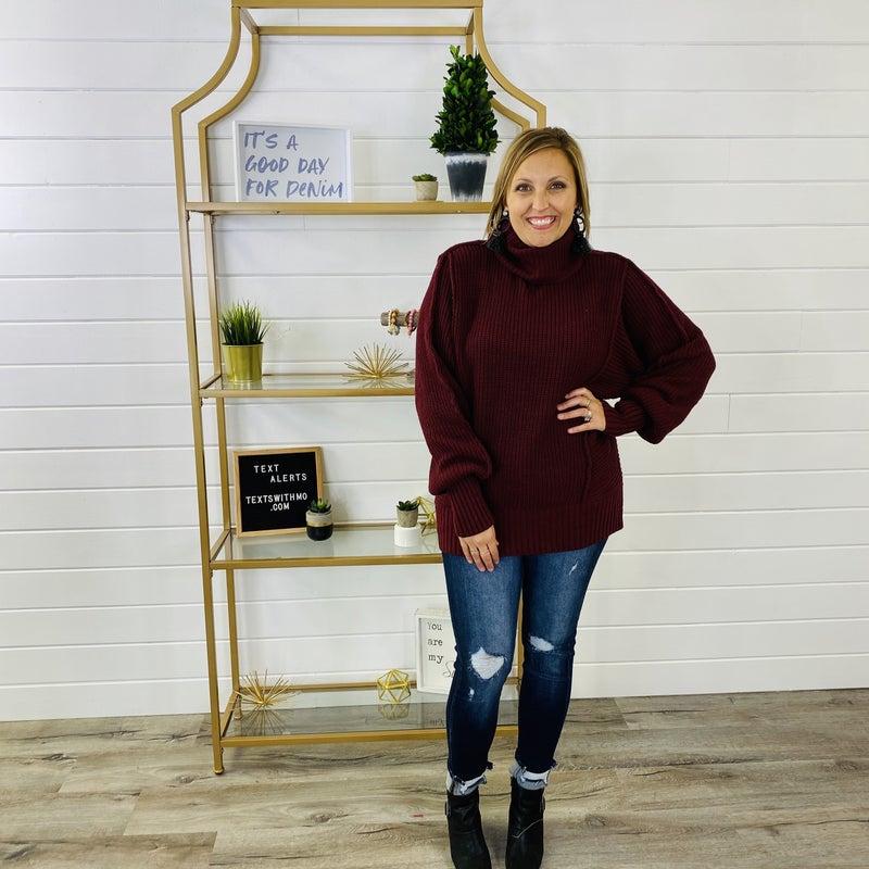 DOORBUSTER Too Cozy Turtleneck Sweater- 7 Colors!