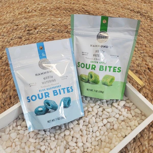 PREAUTHORIZE!! Hammond's Sour Bites--2 Flavors!