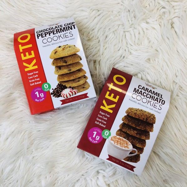 Festive Keto Cookies- 2 Flavors!