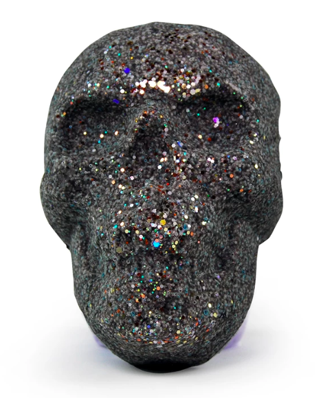 Organic Fruit Loop Glitter Skull Bath Bomb