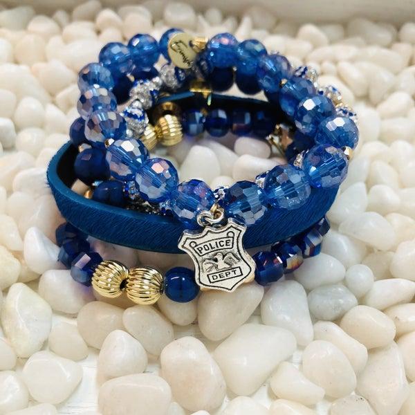 Erimish Police Stack Bracelet With Box
