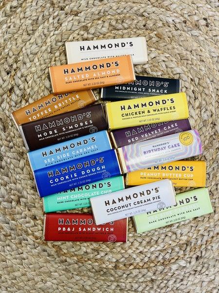 Hammond's Chocolate Bars-13 Flavors!