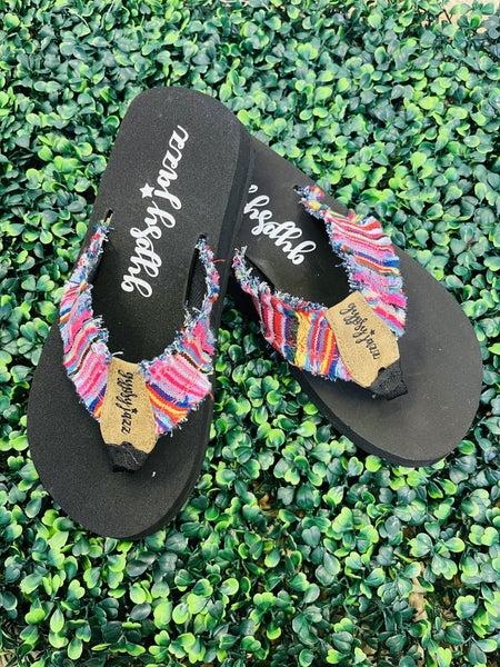 GYPSY JAZZ Take Me to the Beach Flip Flops