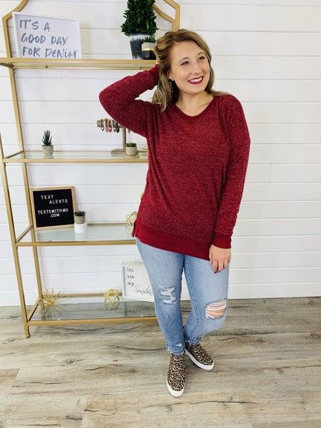 PLUS/REG Soft As a Blanket Weekender Top
