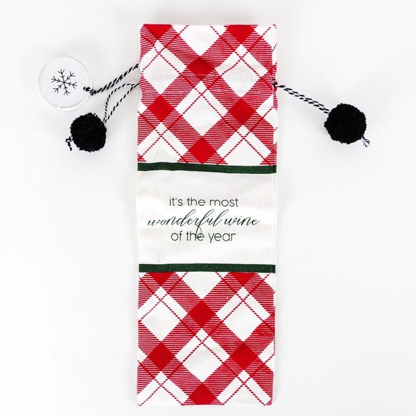 As Long As We Have Wine The Holidays Will Be Fine Wine Bag