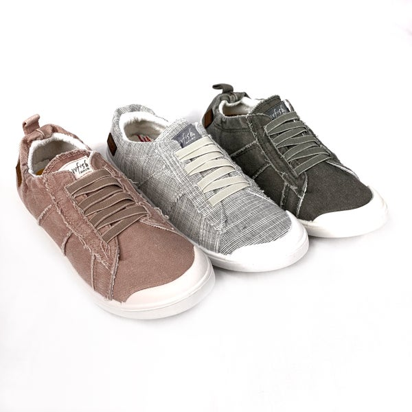 PREAUTHORIZE! Blowfish Canvas Slip On Sneakers with Elastic Back - 3 Colors!