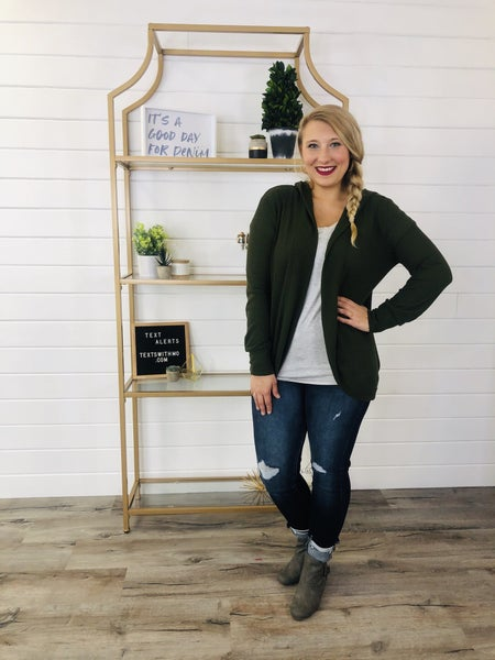 Light As A Feather Cardi- 3 Colors!